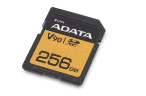 The new ADATA memory cards are three times faster than current models