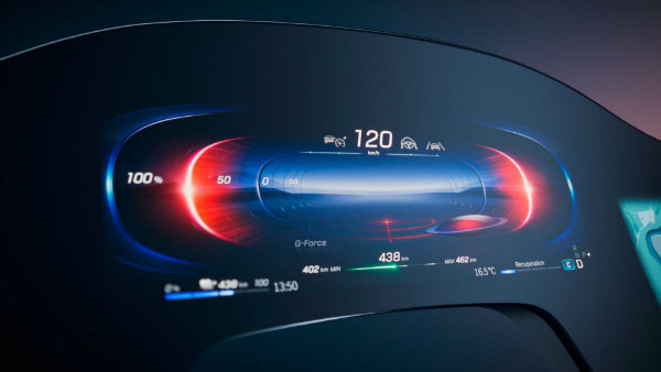 1610111443 926 Mercedes Benz hyperscreen equipped with artificial intelligence was unveiled A new Mercedes-Benz hyperscreen equipped with artificial intelligence was unveiled; A new step in the technology of the automotive world 6