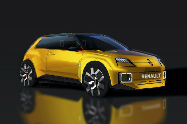 1610659345 362 Renault 5 prototype introduced The attractive French hatchback of 2023 Renault 5 prototype introduced; The attractive French hatchback of 2023 returns with an electric motor 2