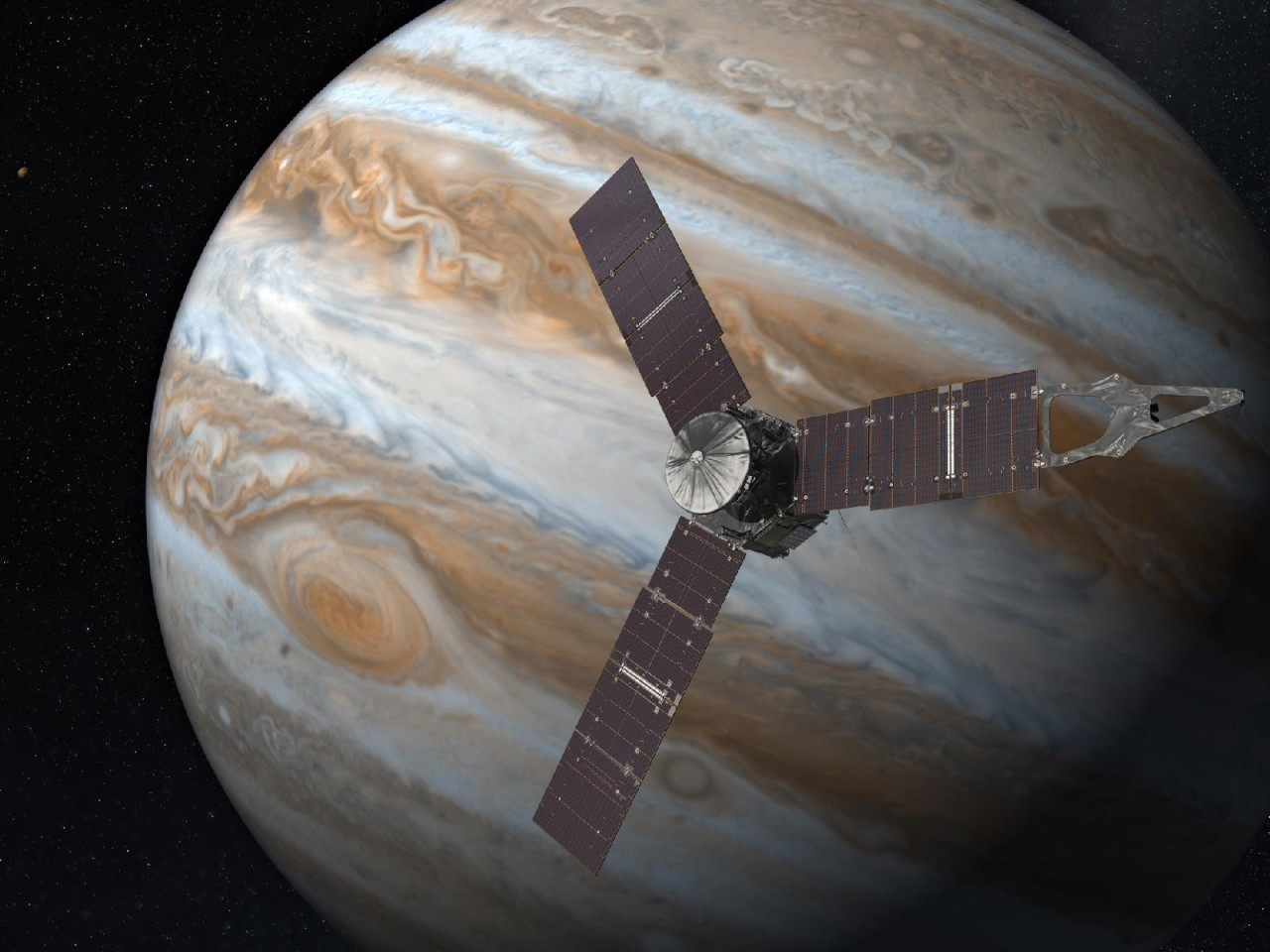NASA extends Juno probe mission to better study Jupiter and its moons by 2025