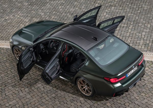 1611767490 952 The M5 CS was introduced The fastest and most powerful The M5 CS was introduced; The fastest and most powerful car in the history of Bavaria 20
