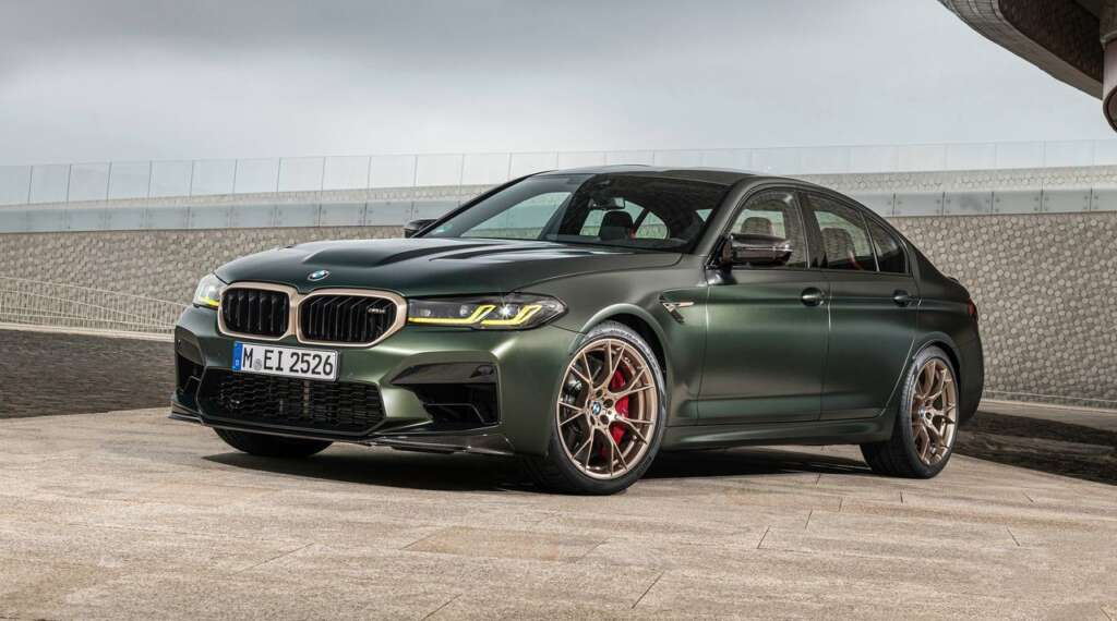 The M5 CS was introduced;  The fastest and most powerful car in the history of Bavaria