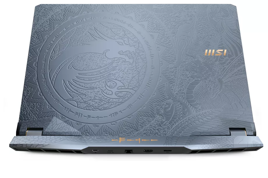 MSI unveils new GE Raider series laptops with stunning engraving on body