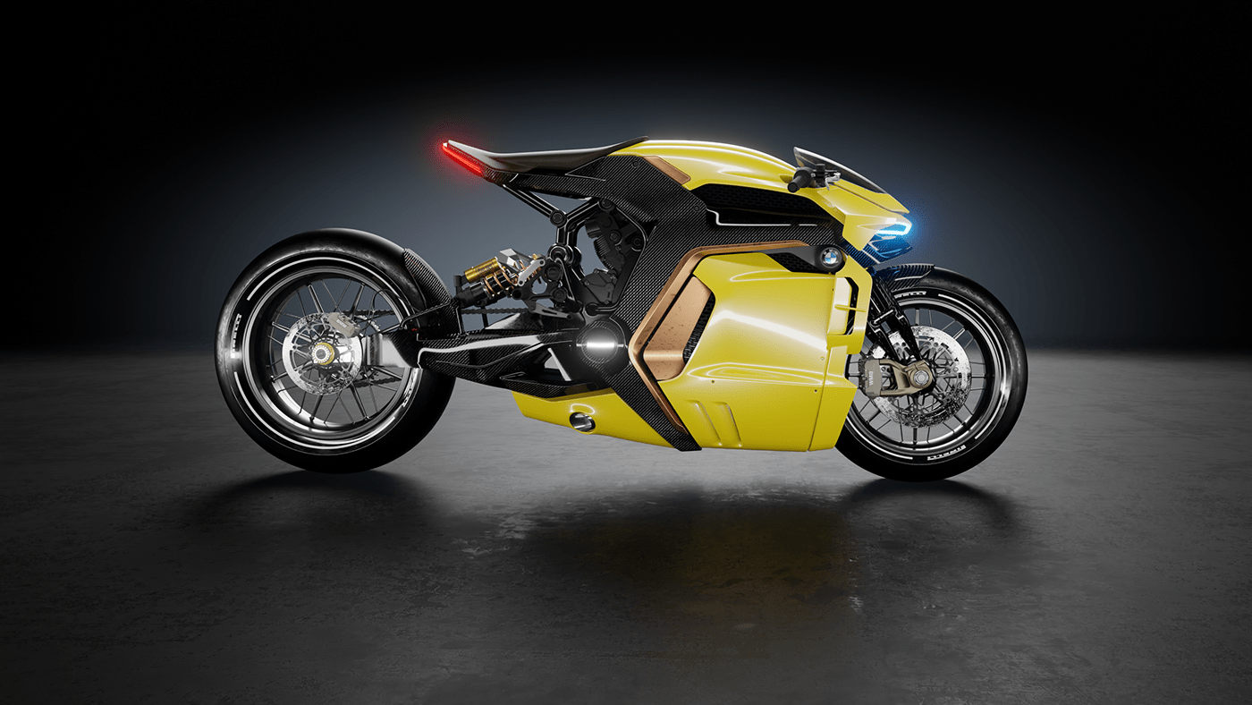 1612204560 953 Charm on bicycles Take a look at the concept design Charm on bicycles; Take a look at the concept design for BMW motorcycles 6