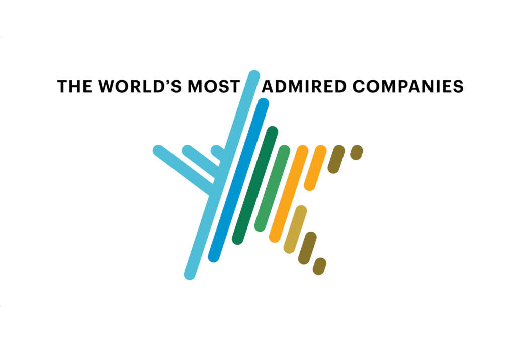 """Apple has once again earned the title of """"the most admired company in the world."""""""