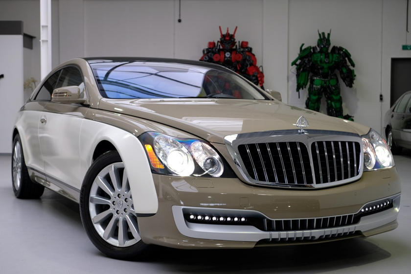 Mercedes Maybach coupe sold to Muammar Gaddafi;  The last compound of the Libyan dictator