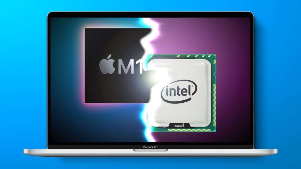 Intel questioned the performance of Apple's M1 chip by publishing the results of several benchmarks
