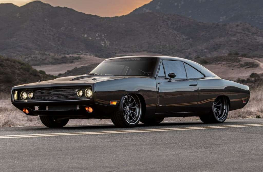 Speedcore Hellraiser introduced;  A fire car based on the 1970 Dodge Charger