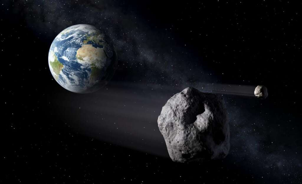 A large asteroid passes around the Earth in less than two months