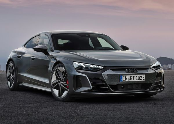 1613001402 226 The Audi e tron GT was introduced with a stunning design The Audi e-tron GT was introduced with a stunning design; Porsche Taikan twin, Tesla Model S rival 16