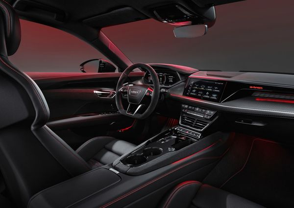 1613001402 423 The Audi e tron GT was introduced with a stunning design The Audi e-tron GT was introduced with a stunning design; Porsche Taikan twin, Tesla Model S rival 8