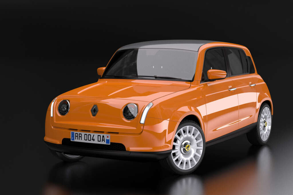 The classic Renault 4 is revived;  The serious determination of the French carmaker to supply electric models