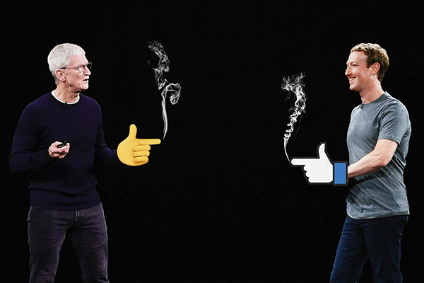 Zuckerberg's response to Cook's remarks about privacy: We have to poison Apple