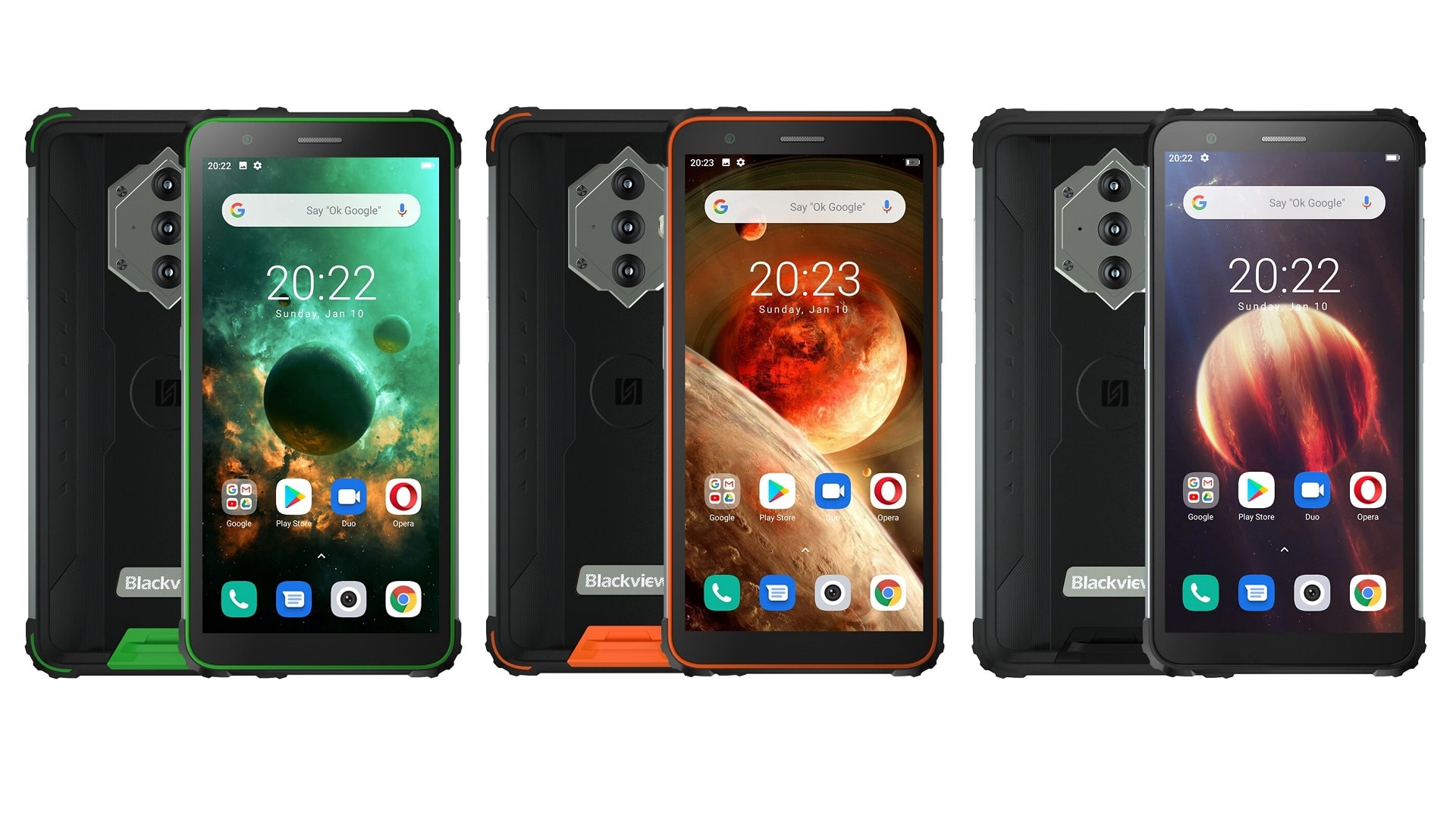 1613520611 429 John BlackView BV6600 hard phone with 8580 mAh battery was John BlackView BV6600 hard phone with 8580 mAh battery was introduced 2