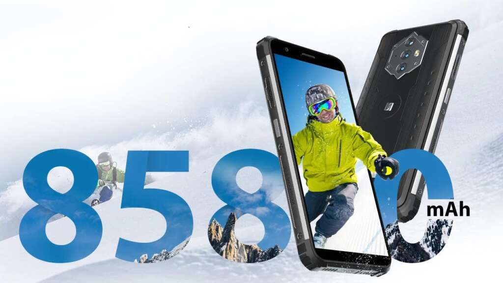 John BlackView BV6600 hard phone with 8580 mAh battery was introduced