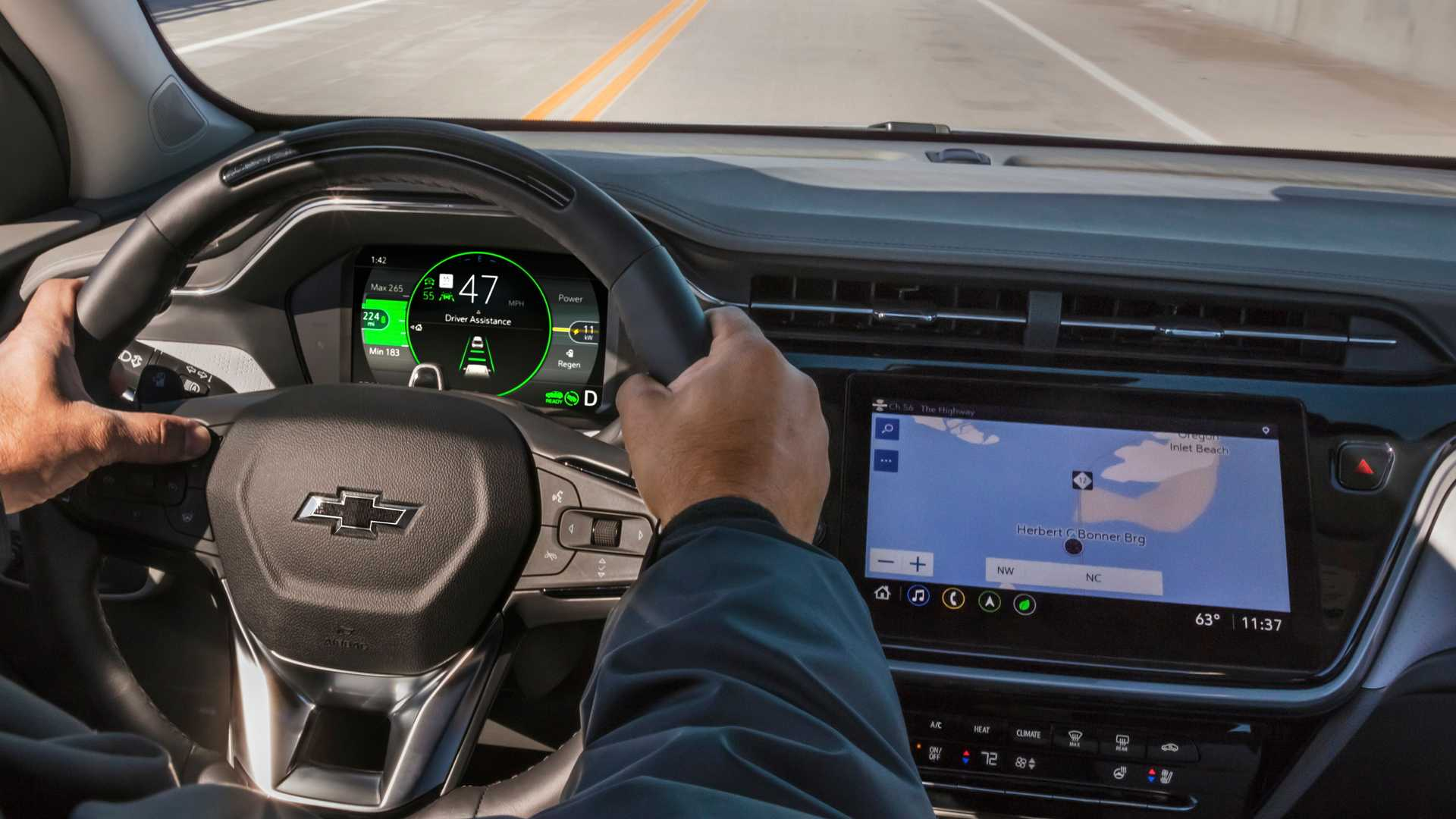 1614662501 473 The Chevrolet Bolt EUV will not have a General Motors The Chevrolet Bolt EUV will not have a General Motors semi-automatic system 4