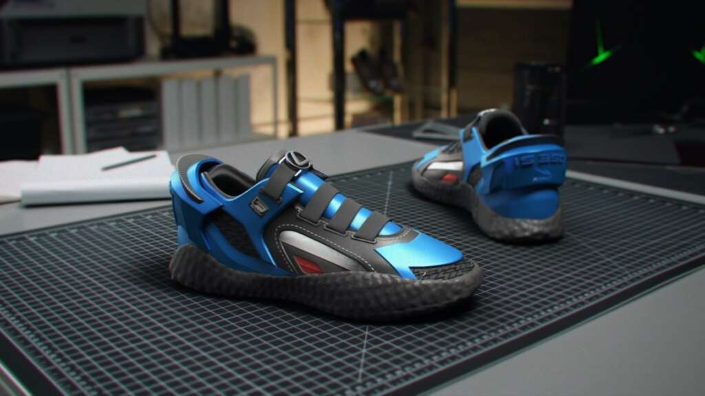 Lexus shoes were introduced for IS series customers
