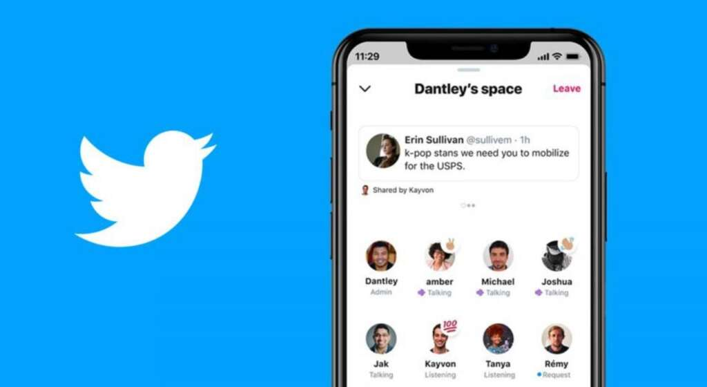 Twitter has made Spaces voice chat available to Android users