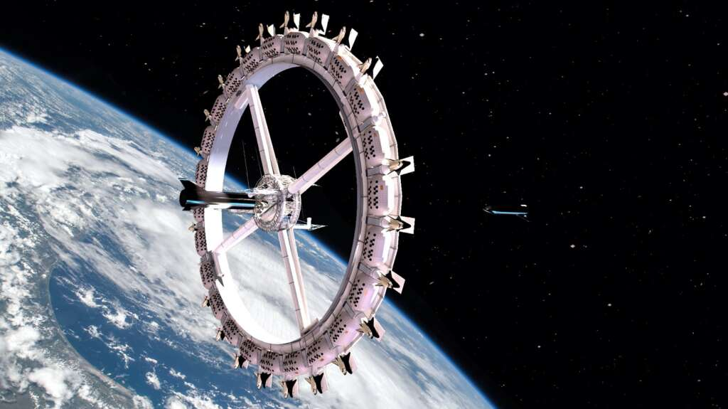 The first space hotel to be built by 2026: $ 5 million dream accommodation