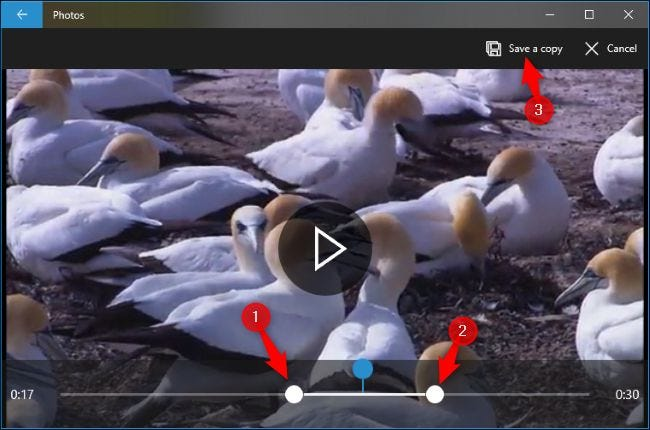 Edit videos with Video Editor