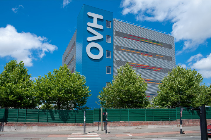 A fire destroyed the OVH data center in Strasbourg, France