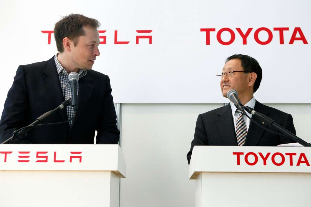 In addition to Tesla, the CEO of Toyota has also underestimated Apple