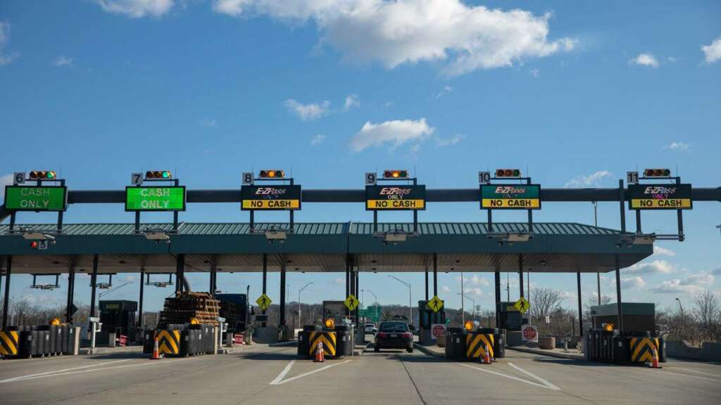 The most expensive toll in the world with a cost of $ 100 per car in Pennsylvania broke the record