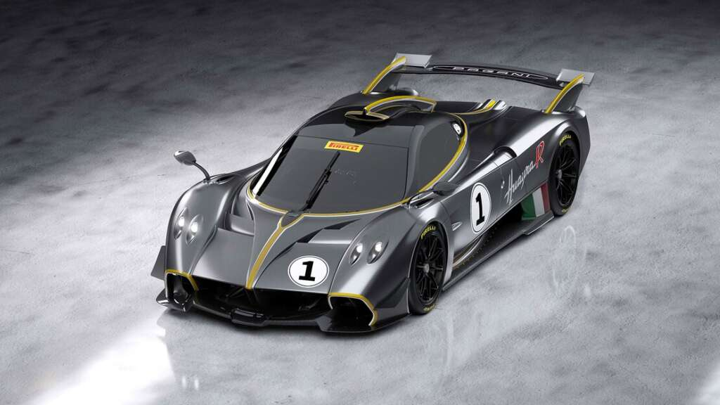Introduction of Pagani Huayra R;  First look at the 850 hp supercar for the racetrack