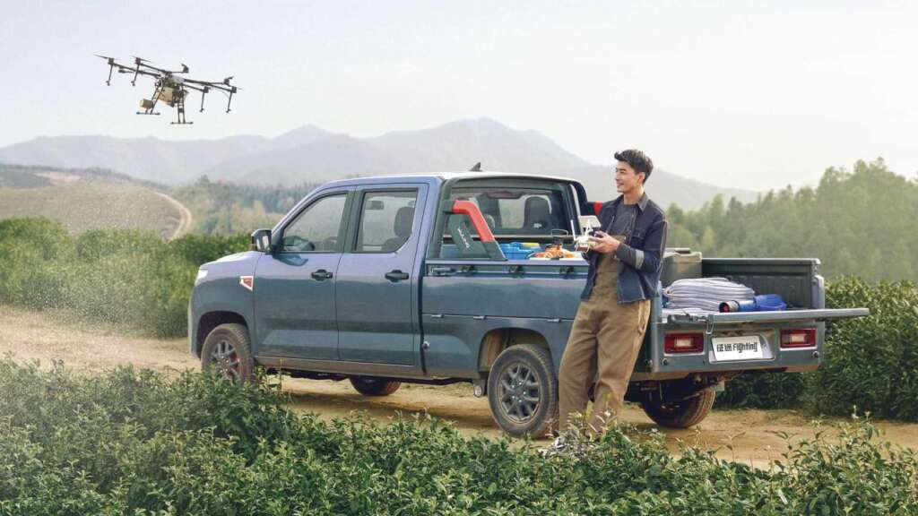 Less than 250 million Tomans;  General Motors has introduced the low-cost Wooling Zhengto pickup in China