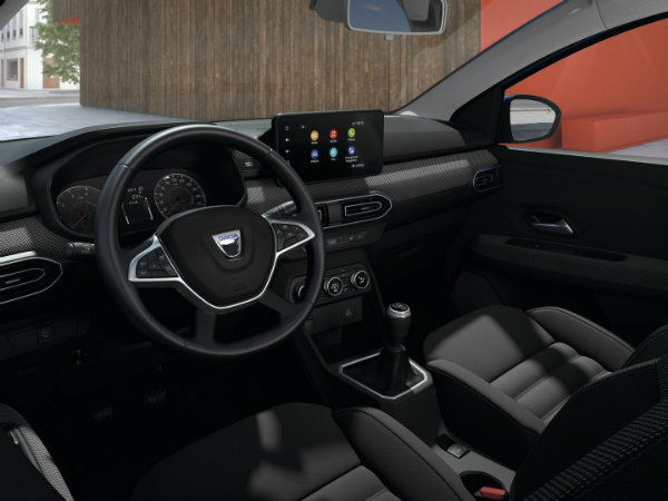 1617020793 459 Dacia Sandro turns the drivers cell phone into an infotainment Dacia Sandro turns the driver's cell phone into an infotainment system display 7