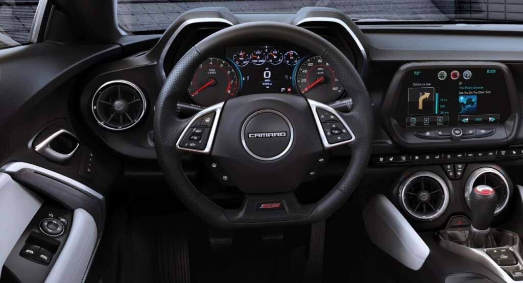 30 Chevrolet Camaros are at risk of having the steering wheel logo torn off in an accident