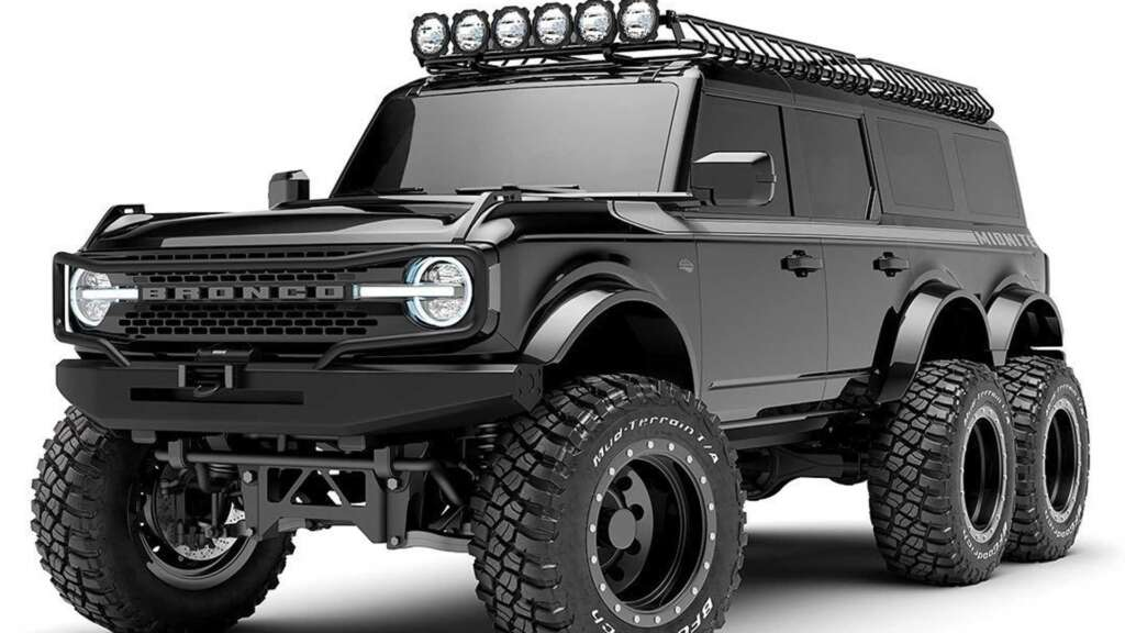 Meet the most expensive Ford Branco in the world;  Competitor of value for the Mercedes G-Class 6-wheel