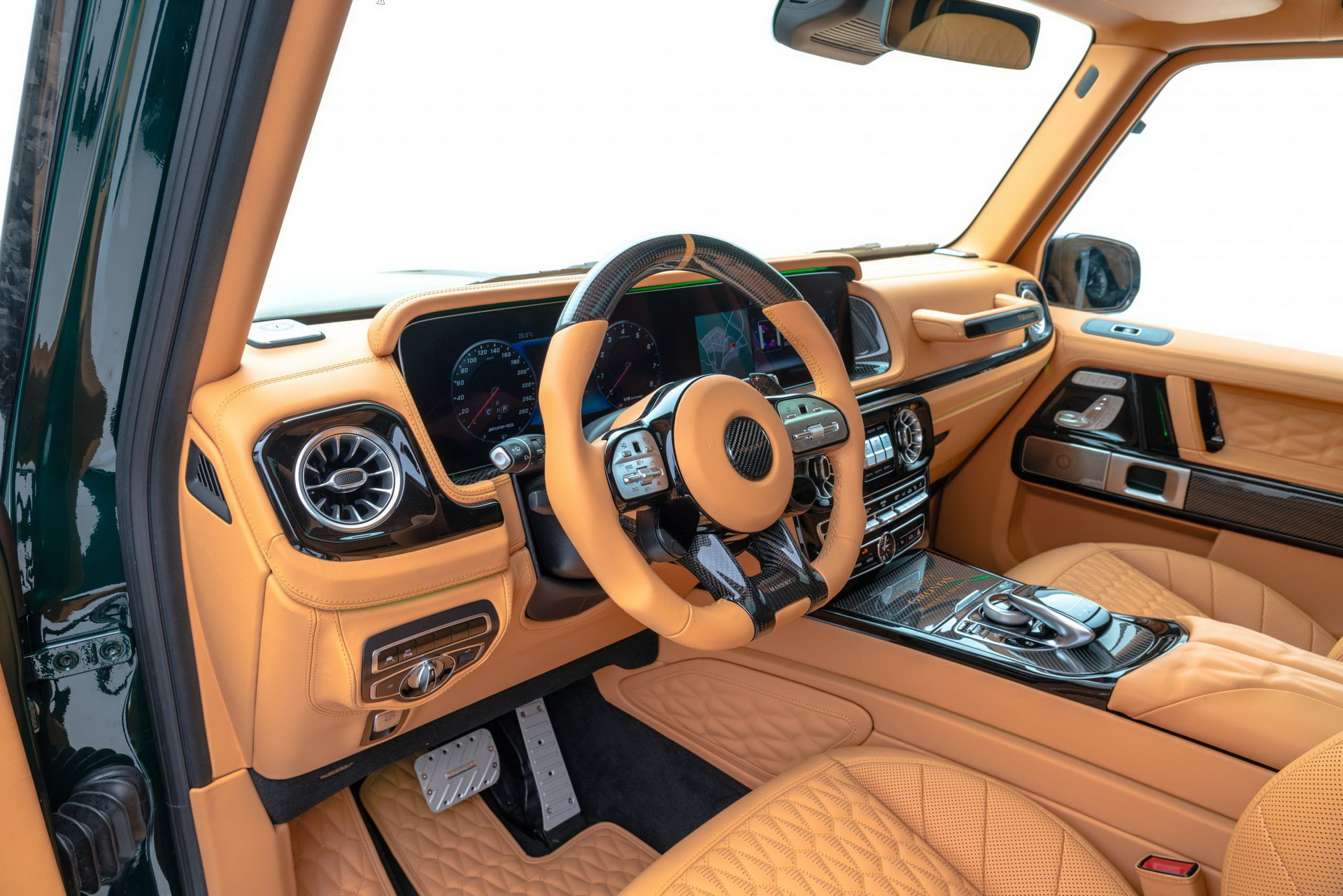 1618365394 778 Mansouris half a million tuning for Mercedes Benz AMG G63 Mansouri's half a million tuning for Mercedes-Benz AMG G63 8