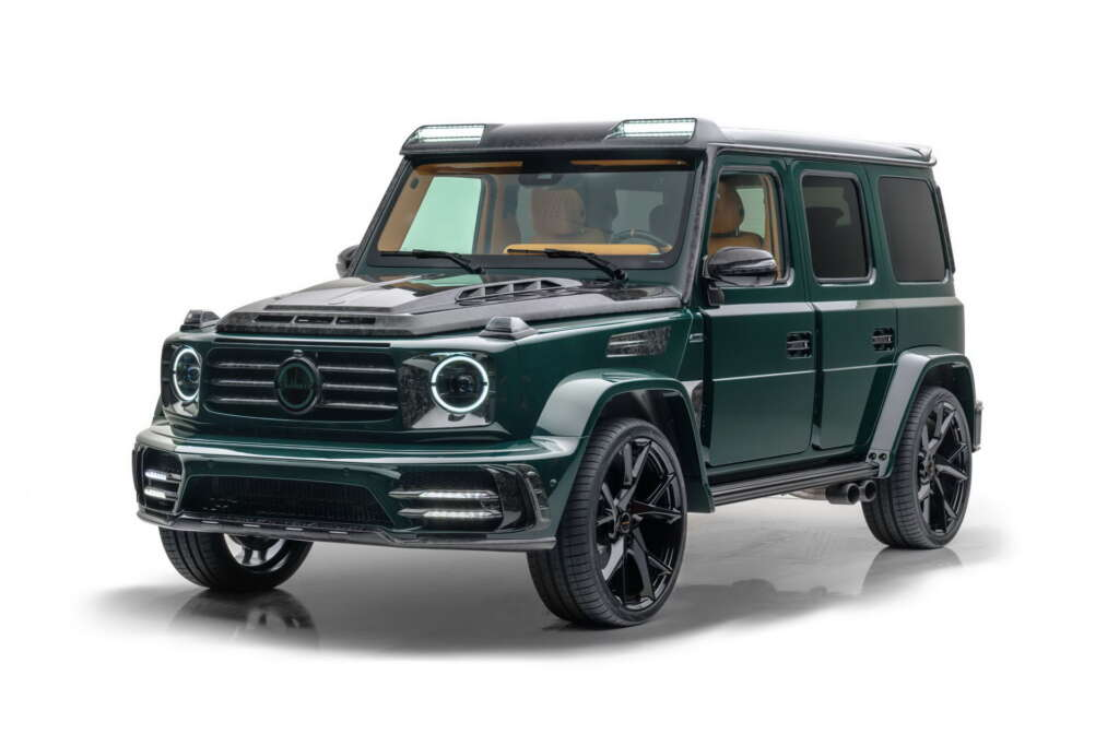 Mansouri's half a million tuning for Mercedes-Benz AMG G63
