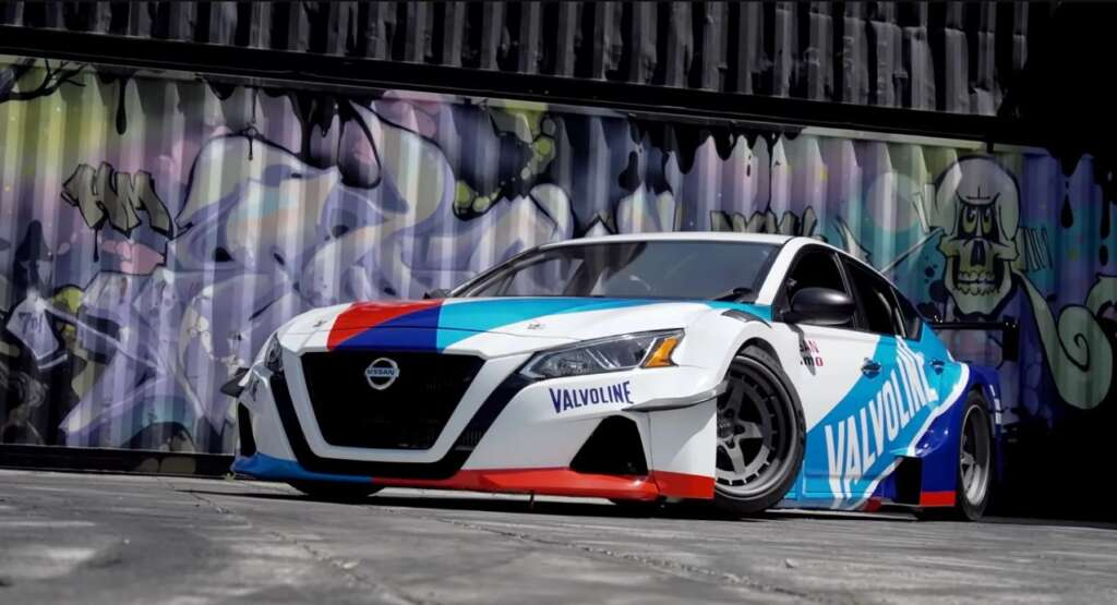 2,000 horsepower for the Nissan Altima family model;  Completely different projects in the world of tuning