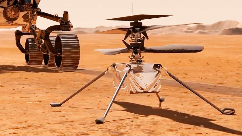 """NASA has announced the date of the first flight of the """"genius"""" helicopter on Mars"""