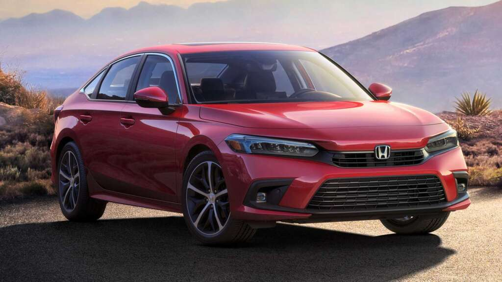 The first information about the production version of Honda Civic 2022 has been released