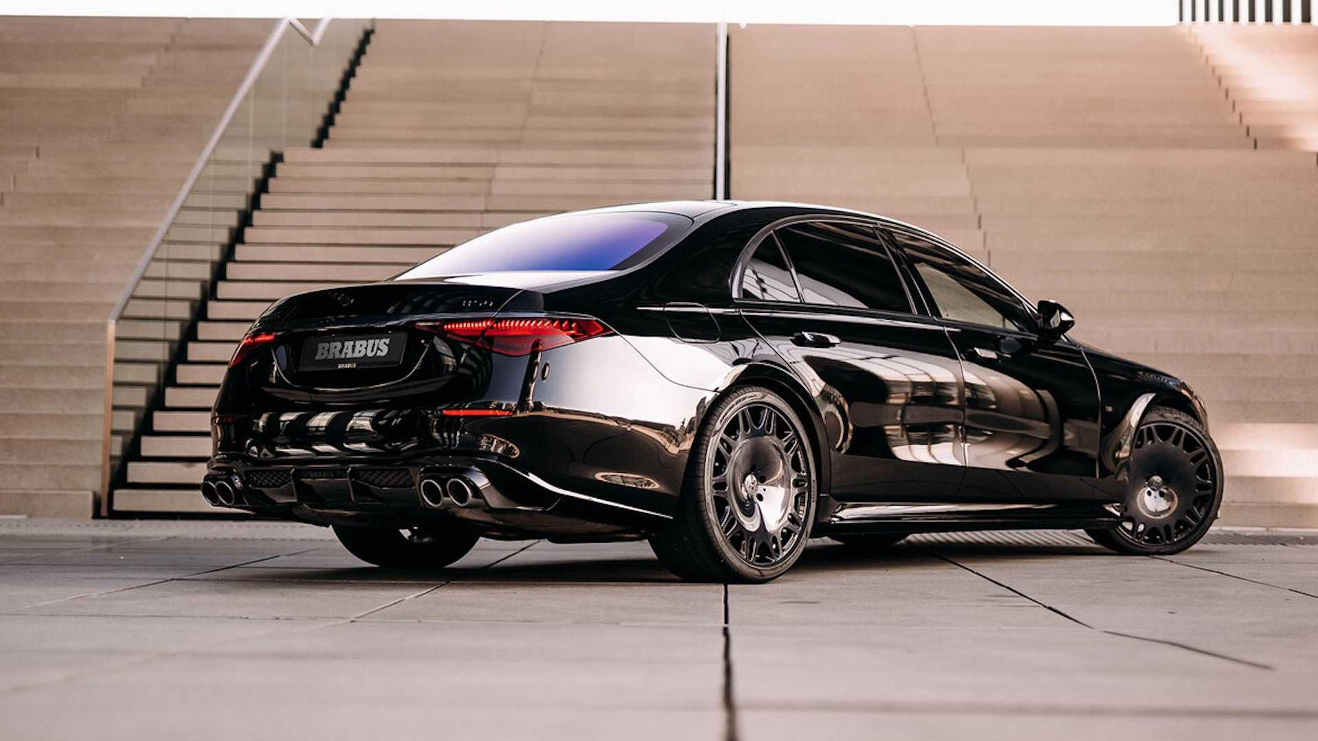 1618982405 863 Brabus 500 entered the market Concentrated makeup of the new Brabus 500 entered the market; Concentrated makeup of the new generation Mercedes-Benz S-Class 2