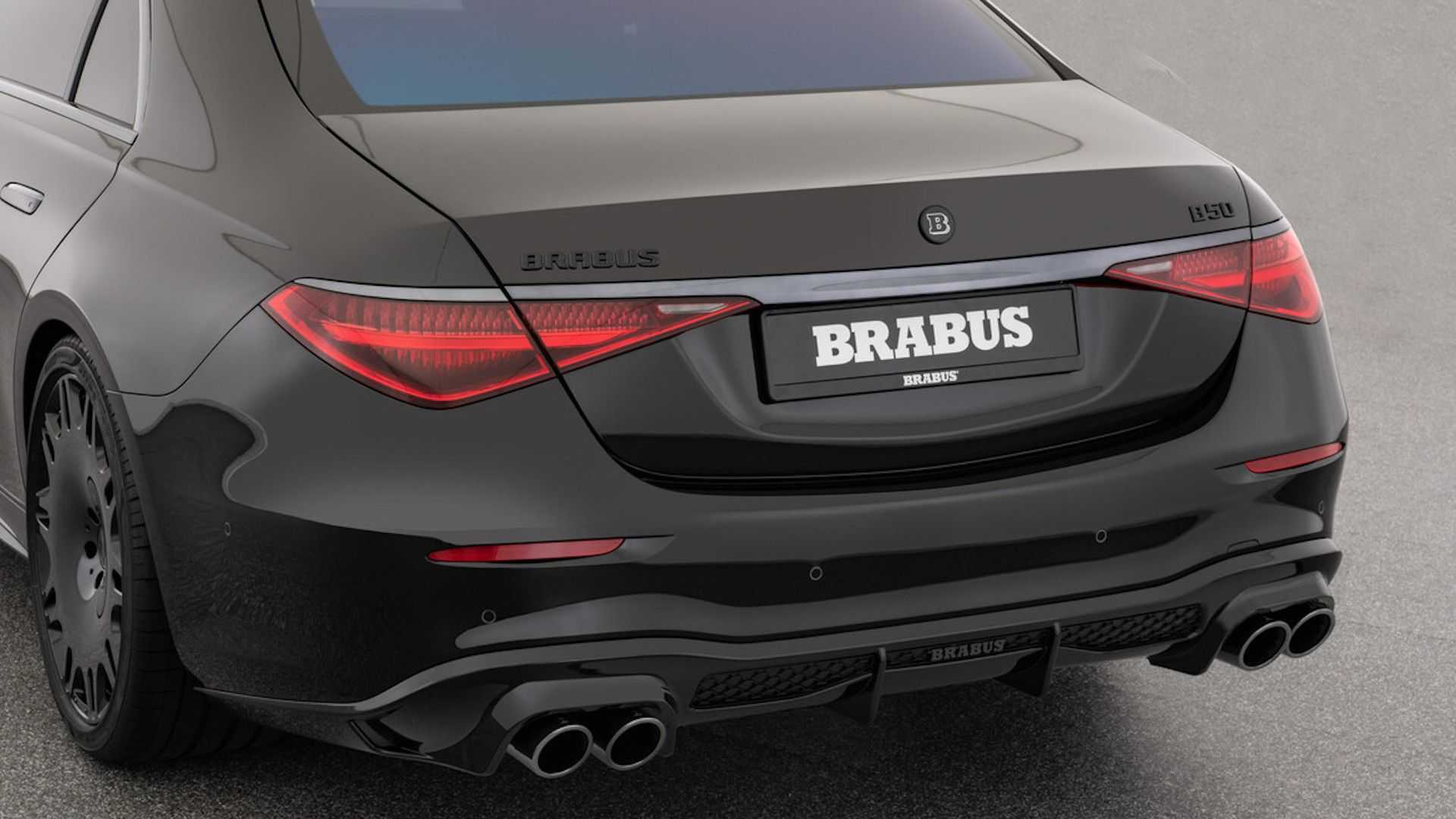 1618982406 331 Brabus 500 entered the market Concentrated makeup of the new Brabus 500 entered the market; Concentrated makeup of the new generation Mercedes-Benz S-Class 8