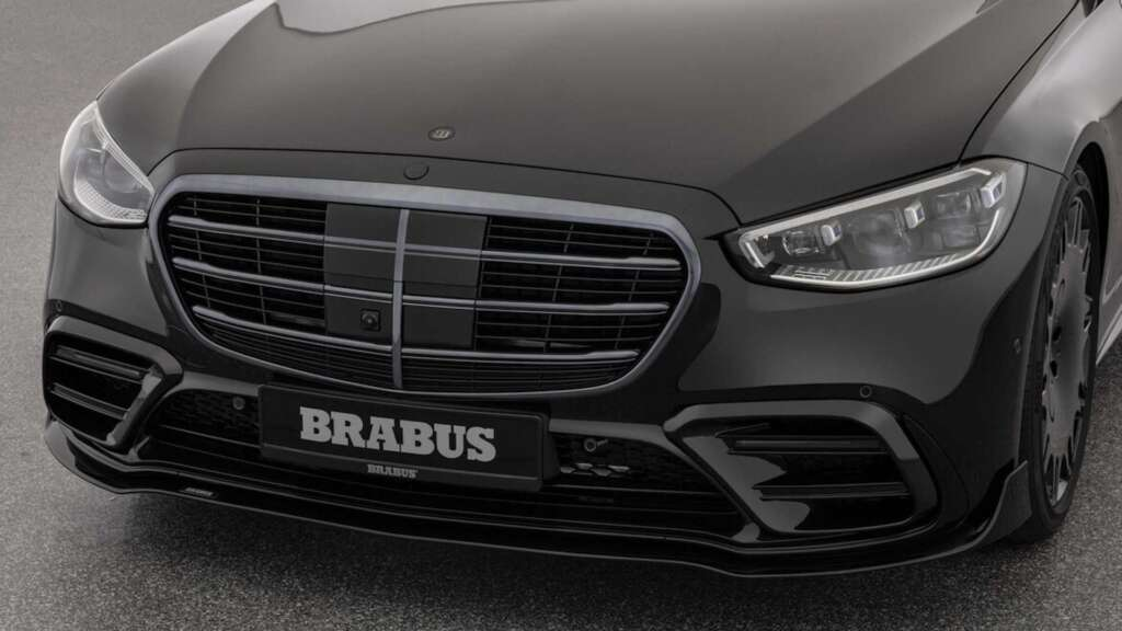 Brabus 500 entered the market;  Concentrated makeup of the new generation Mercedes-Benz S-Class