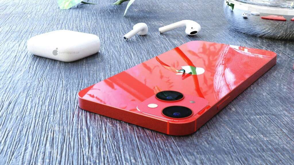The prototype image of the iPhone 13 Mini shows the design of its camera module well