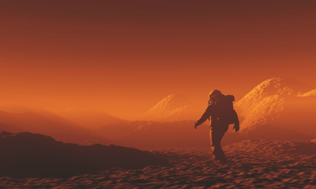 How will NASA generate electricity on Mars?