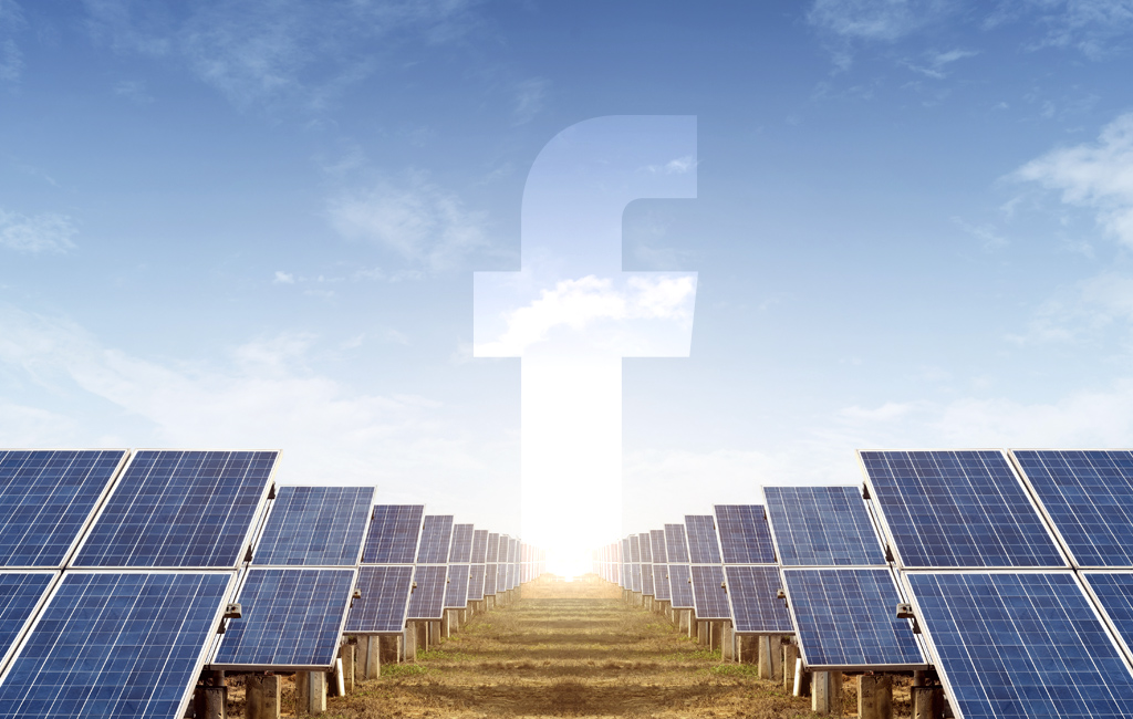 All of Facebooks activities since last year have been driven All of Facebook's activities since last year have been driven by renewable energy 1