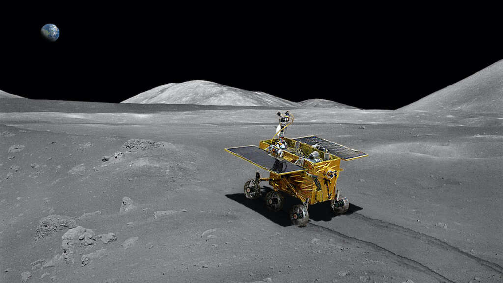 The Chinese lunar probe uses equipment from European countries
