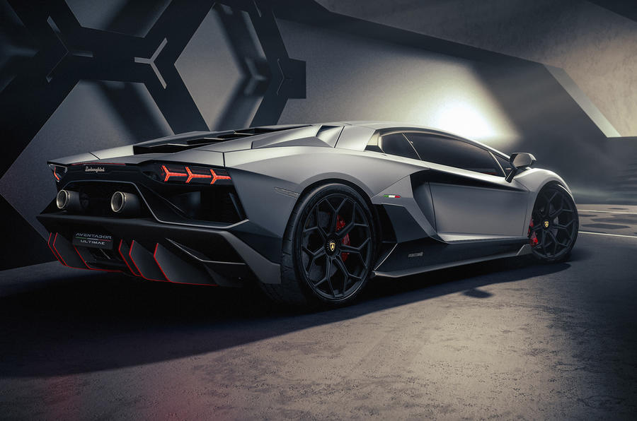 1625739420 349 The Lamborghini Aventador Ultimae edition was officially unveiled The latest The Lamborghini Aventador Ultimae edition was officially unveiled; The latest bent cow with a V12 engine 8