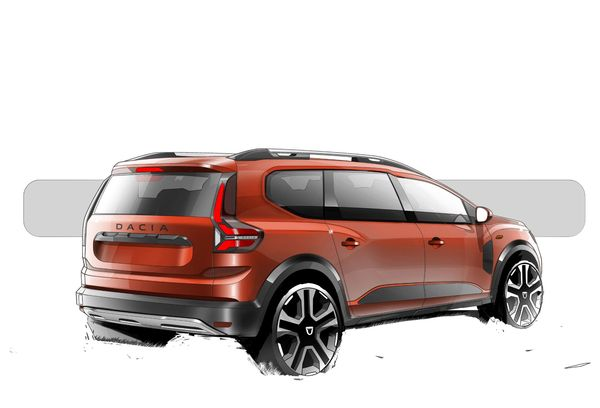 1630837662 684 Dacia Jagger was introduced A functional combination of station wagon Dacia Jagger was introduced; A functional combination of station wagon, minion and high chassis 108