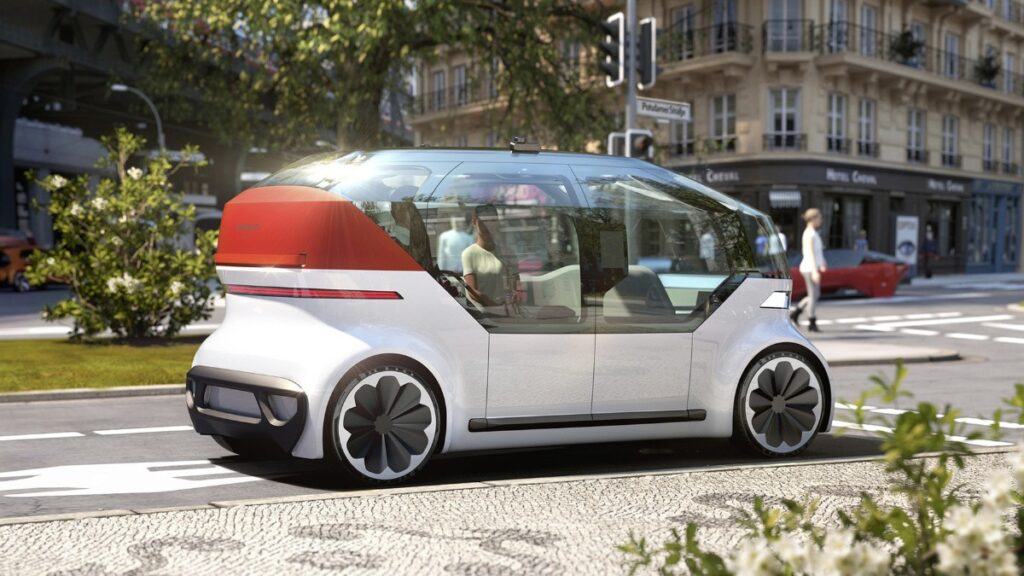 Volkswagen OnePad Concept Unveiled;  An impression of an advanced shared car in the future